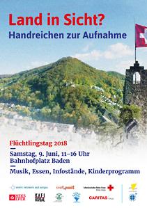 Flüchtlingstage Aargau: Flüchtlingstag 2018 in Baden