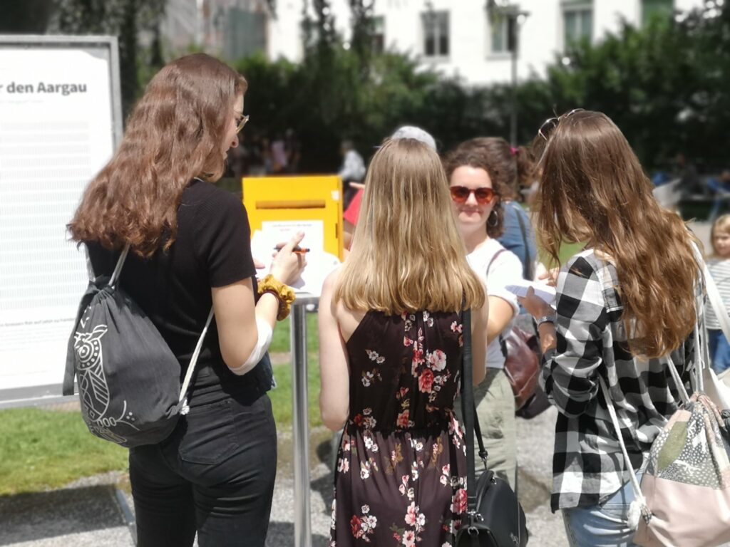 Kantonaler Flüchtlingstag in Aarau, 20. Juni 2020