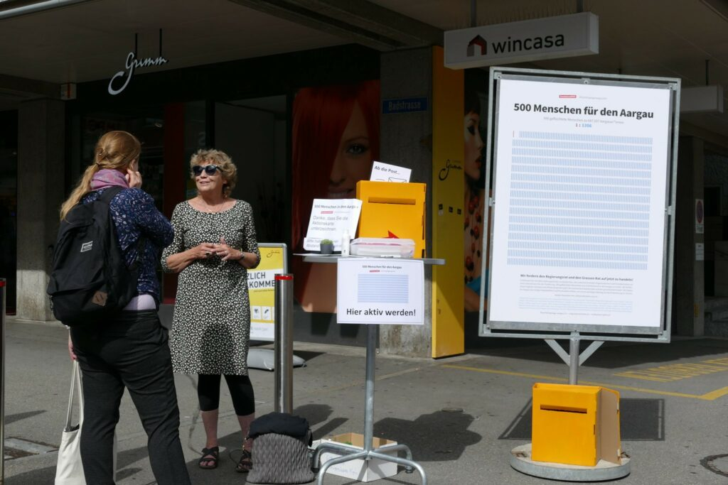 Kantonaler Flüchtlingstag in Baden, 20. Juni 2020