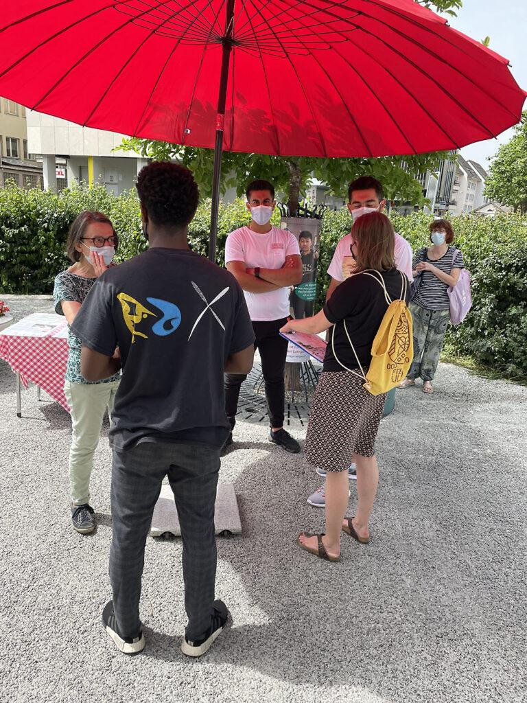 Flüchtlingstage Aargau: Flüchtlingstag in Aarau, 19. Juni 2021